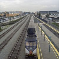 Amtrak Away!, Эмеривилл