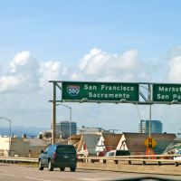 Highway 580 to San Francisco, USA, Эмеривилл