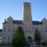 Geary County Courthouse, limestone, Junction City, KS, Джанкшин-Сити