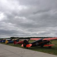 Some of the Biplanes at the 2013 National Biplane Fly-in, Джанкшин-Сити