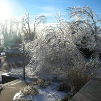 ice storm, Додж-Сити