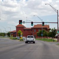 2011, USA, KS, Dodge City - Wyatt Earp Blvd- Historic Santa Fe Depot, Додж-Сити