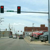 2011, Dodge City, KS, USA - 1st Ave and W. Trail St., Додж-Сити