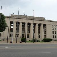 Wyandotte County Court house, Kansas City, KS, Канзас-Сити