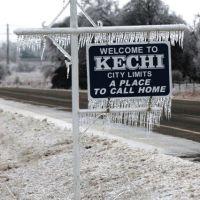 Kechi winter ice, Кечи