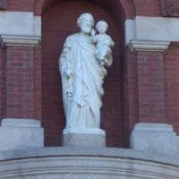 St Joseph with baby Jesus, Sisters of St Joseph motherhouse, Concordia, KS, Конкордиа