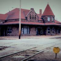 Santa Fe Depot, Leavenworth KS - 1980, Ливенворт