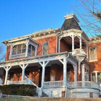 Carroll Mansion - 1857, Ливенворт