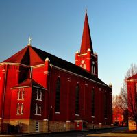 St. Joseph Catholic Church (1868), Leavenworth KS, Ливенворт
