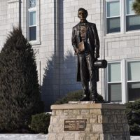 Abraham Lincoln statue, Leavenworth, KS, Ливенворт