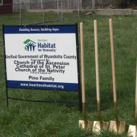 Habitat for Humanity Ground Breaking, Манхаттан