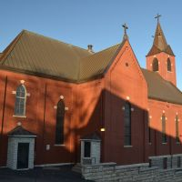 St. John the Baptist Church, KCKS, Манхаттан