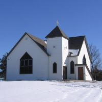 Williamsburg, NE: United Methodist Church, south of Elm Creek, Нортон