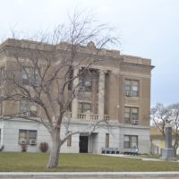 Sharidan County Courthouse in Hoxie Kansas, Нортон