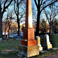 Huron Indian Cemetery, KCKS, Обурн
