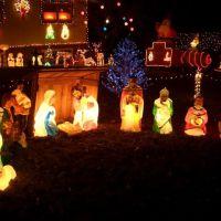 Pearson Christmas lights, Merriam, KS, Овербрук
