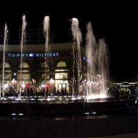 central fountain, Legends Shopping Center, Kansas City, KS, Овербрук