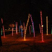 fun residence Christmas lights, Overland Park, KS, Оверленд-Парк