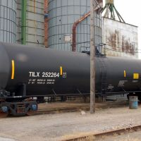 Trinity Industries Leasing Company Tank Car No. 252264 at Beatrice, NE, Палмер