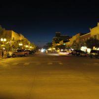 Poyntz Avenue on Sunday night, Manhattan, Kansas, Палмер