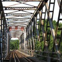 Union Pacific RR Bridge across Republican River, KS, Палмер