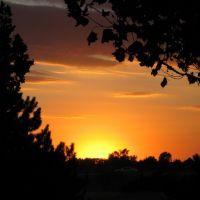 Sunset at Kansas Coliseums Wiedemann Park, Парк-Сити
