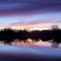 Sunset Reflection, 2011-12-30, Парк-Сити