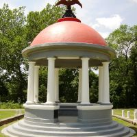 Gazebo in Parsons, Kansas, Парсонс