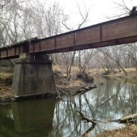 Frisco Railroad bridge over Labette Creek, Парсонс