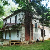 Abandoned Home, Lecompton KS, Перри