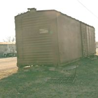 Stoarge Train Car, at corner of  N. Eighth Street and Pine Street, Салина