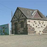 Oakdale Park, Outhouse with Painted Owl, Салина