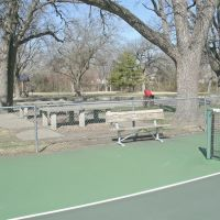 Oakdale Park, Tennis Court, Concrete tables and Shelter 2, Салина