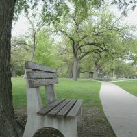 Oakdale Park, Bench looking towards Shelter 3, Салина
