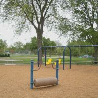 Oakdale Park, Slide, Log Roll, and Swings, Салина