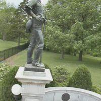 Oakdale Park, Memorial Gateway, Rough Rider, Bronze statue, Eastside, Салина