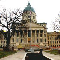 Kansas State Capitol- Topeka, Kansas, USA, Топика