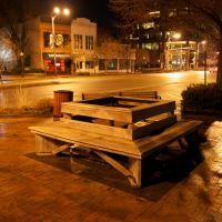 Empty benches., Топика