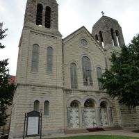 St Mary St Anthony Catholic Church, Kansas City, KS, Файрвэй