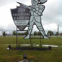 Frontenac Sports Complex Sign, Фронтенак