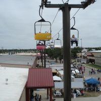 Cable Tram Ride,2007 Kansas State Fair ,Hutchinson,Kansas,USA, Хатчинсон