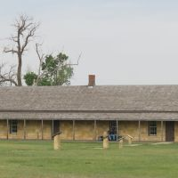 Guard House at Historic Fort Hays, Kansas, Хэйс