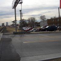 Looking down the tracks, Elm Street, Hays,KS, Хэйс