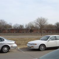 Apartments across RR tracks from campus, Hays, KS, Хэйс