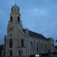St Joseph Catholic Church, limestone, Hays, KS, Хэйс