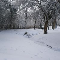 Lincoln Drive in winter, Хэйс