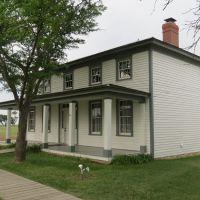 Officers Quarters, Old Fort Hays, Kansas, Хэйс