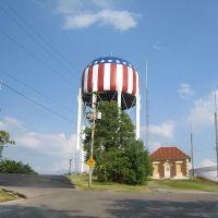 Patriotic water tower, Баулинг Грин