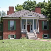 "Historic ""Farmington"", The Speed Home, Built 1805, and Designed by Thomas Jefferson, Кингсли"