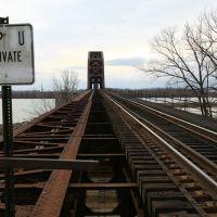 Indiana - Railway Bridge at Falls of Ohio, Лоуисвилл